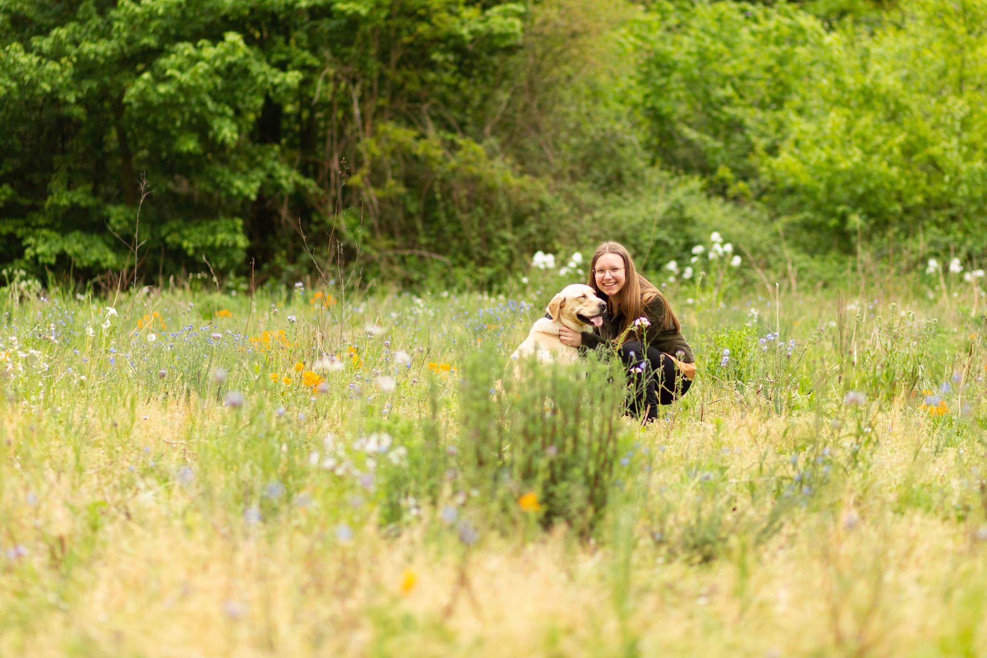 Fotoshoot met hond IJzerlo Gelderland
